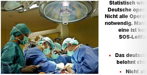 Überflüssige Operationen