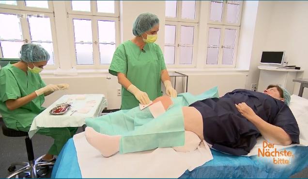 Dr. Endrizzi führt Goldimplantation an Kniegelenk durch